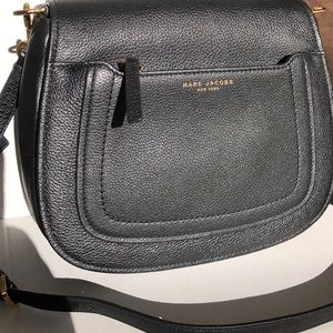 "Marc Jacobs ""Empire City "" Messenger Leather  Bag"